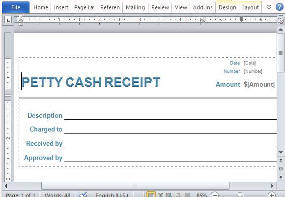 Receipt Form Lost Receipt Form Receipt Template - 122+ Free - petty cash voucher template