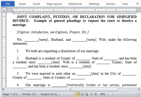 Best Free Petition Templates for Word - free petition templates examples