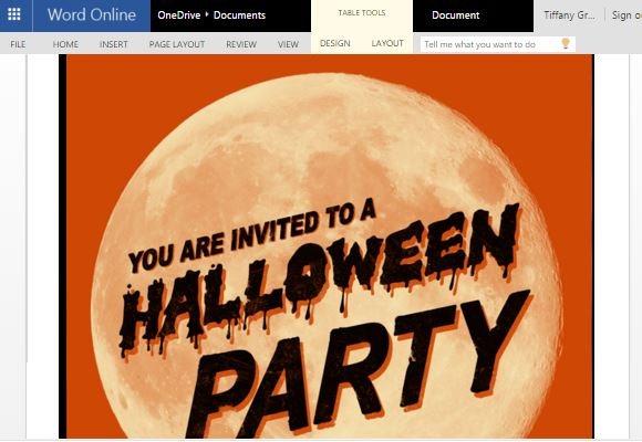 How to Make Halloween Party Invitations in Word - how to make invitations on word
