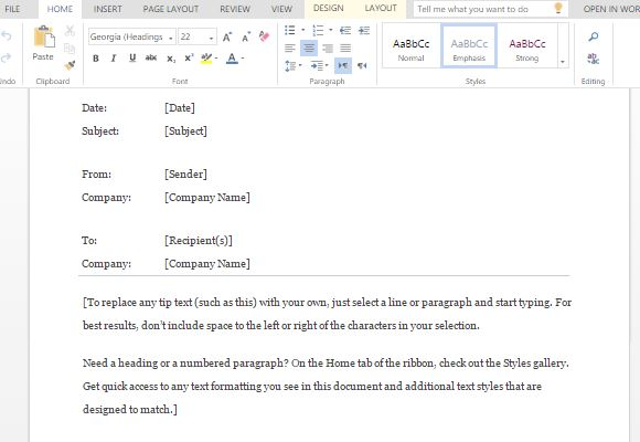 How to Make a Confidential Memo in Word - confidential memo template