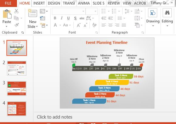 Powerpoint Timeline Templates Free  Sample Customer Service Resume