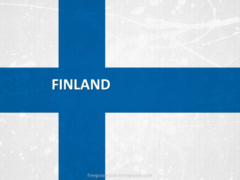 Best Office Decoration Free Finland Powerpoint Template