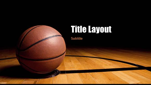 Free Basketball Template for PowerPoint Online - Free PowerPoint - basketball powerpoint template