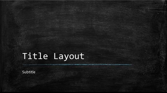 Free Classroom Chalkboard Template for PowerPoint Online - Free