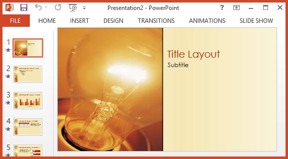 Free Idea Design PPT Template - Free PowerPoint Templates