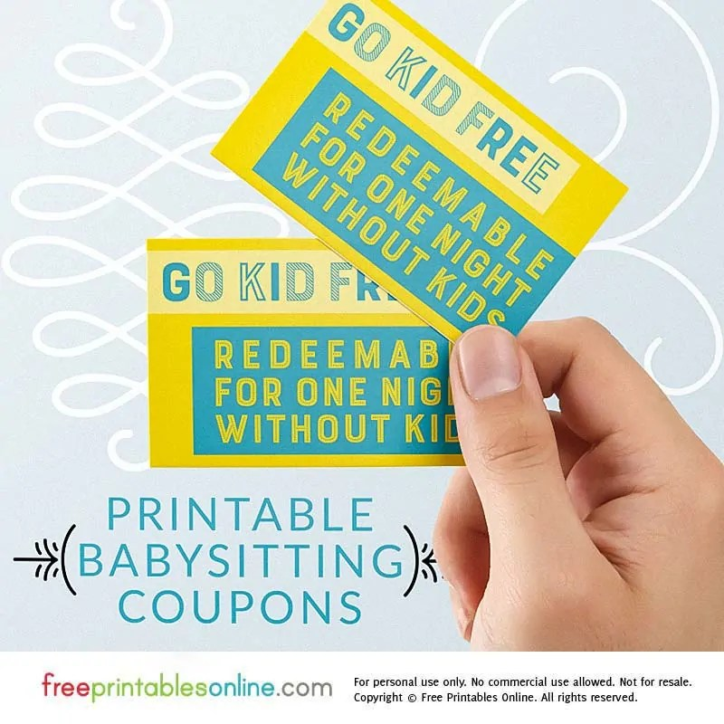 Go Kid Free Babysitting Coupon Free Printables Online Bloglovin\u0027