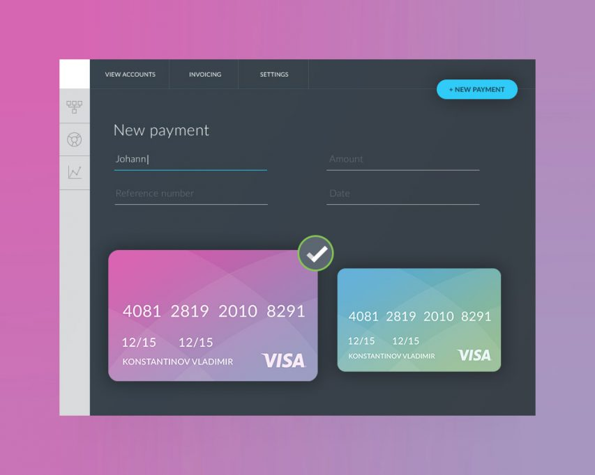 Free Payment Form UI Template Free PSD at FreePSDcc