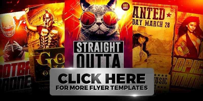 Ufc Flyer Template Mma Flyer Template Mma Flyer Template Free