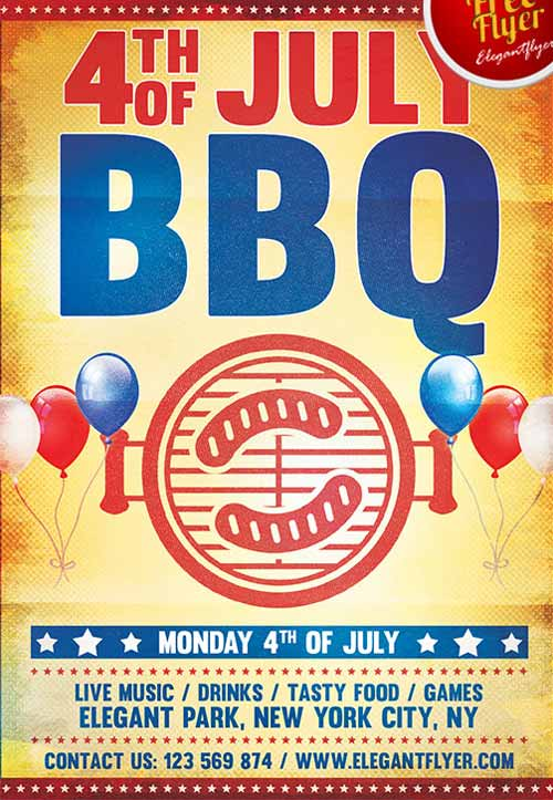 july cookout flyer - Mersnproforum