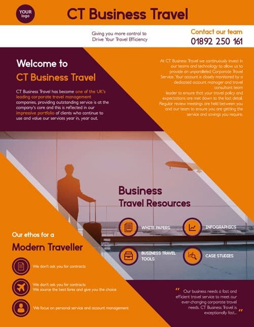 Free Travel Business Flyer Template - Download Free PSD Flyer Designs - free meet and greet flyer template