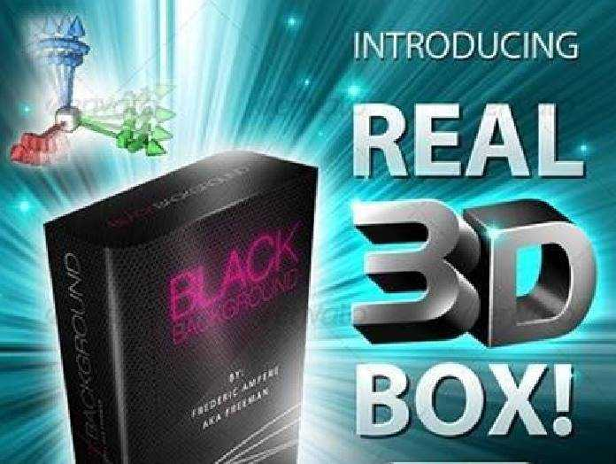 1702169 Real 3D Box Generator  Template! 105966 - Free PSD download