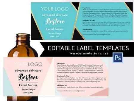 1804282 Product Label Template-ID18 1522927 Free download - abel templates psd