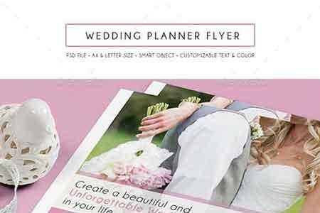1808024 Wedding Planner Flyer 15882193 - FreePSDvn