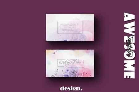 Wedding Business Card Template 3490683 - FreePSDvn