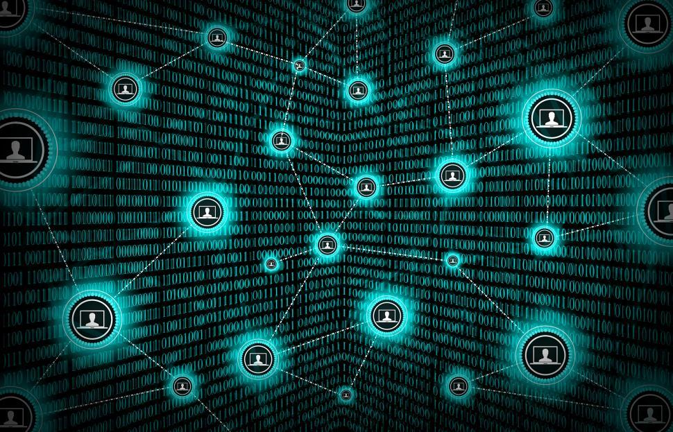 Get Free Stock Photo of Block Chain Network Concept - Distributed