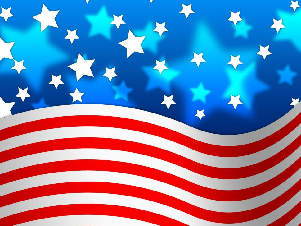 Get Free Stock Photo of Amercian Flag Background Means Stripes And
