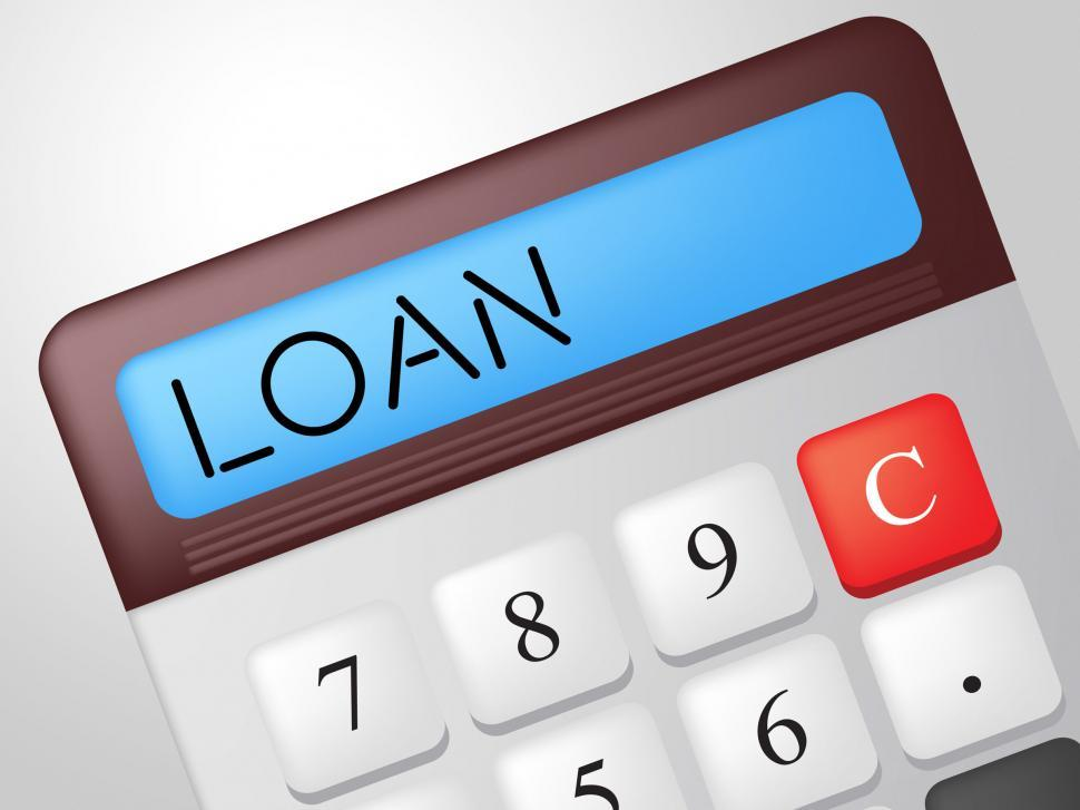 Get Free Stock Photos of Loan Calculator Means Fund Loans And