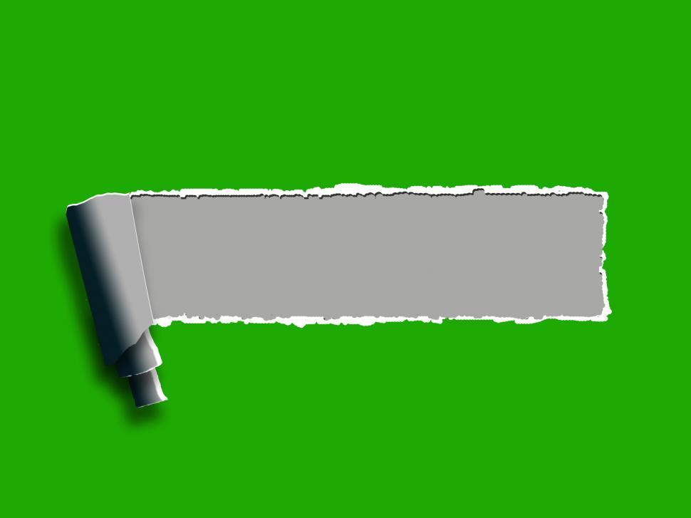 Get Free Stock Photos of Torn Paper Background Shows Blank Copyspace