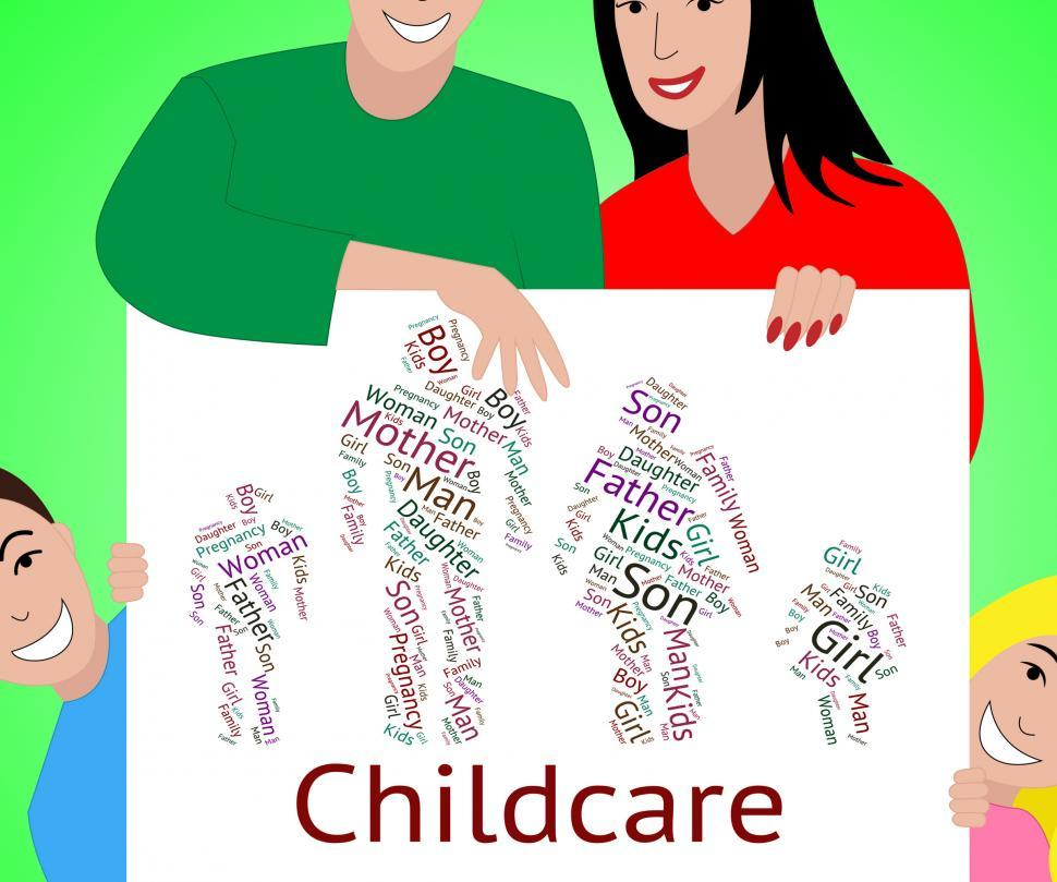 Get Free Stock Photos of Childcare Word Represents Looking After And - the babysitter online free
