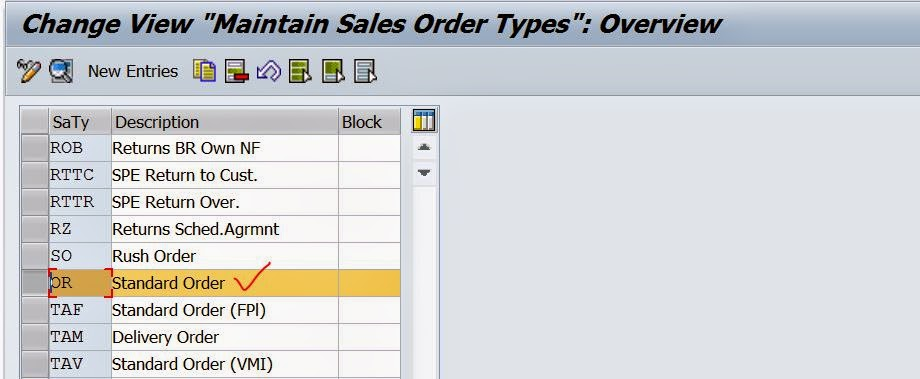 Defining New Delivery Document type In SD \u2013 SAPCODES