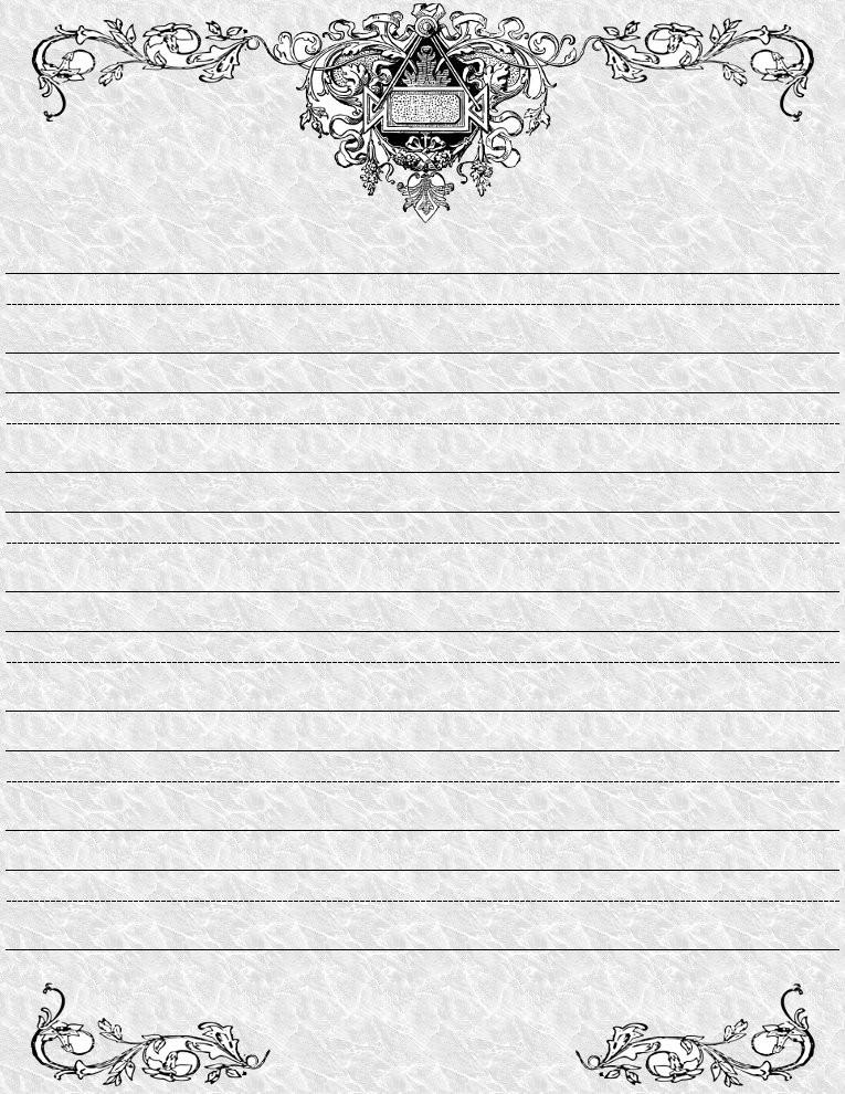 primary lined paper printable