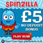 SpinZilla Casino free spins