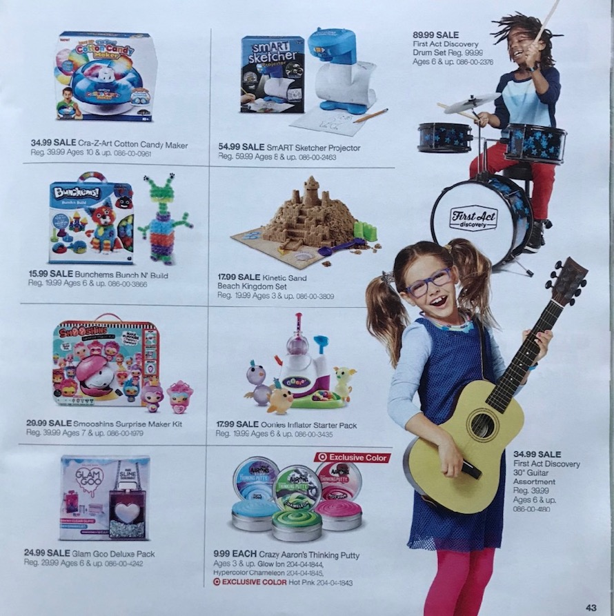 Toy Guitar Target Target Toy Book Ad 2018 Black Friday Ads Part 43