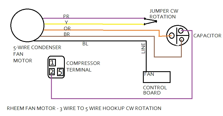 Single Phase Motor Wiring Diagram On Ao Smith Fan Motor Diagram