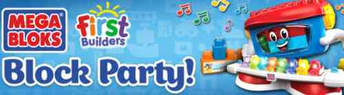 House Party Host a Free Mega Bloks First Builders Block Party - US