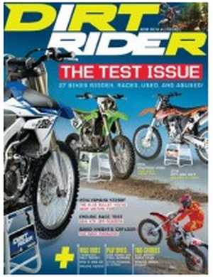Mercury Magazines Free Dirt Rider Magazine Subscription - US