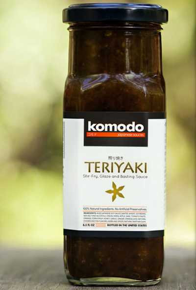 Komodo Sauces Free Teriyaki Sauce Sample - Ireland, UK and US