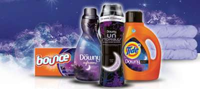P&G Sweet Dreams Free Downy Unstopables Sample and the Sweet Dreams Collection Coupon Booklet Samples - Canada