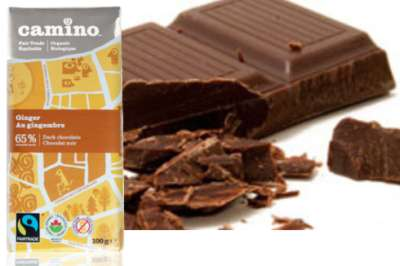 EthicalDeal.com Free Sample of Camino Ginger Chocolate Bar - Canada