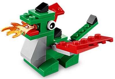 LEGO Club Free LEGO Dragon Mini Model Build on May 6, 2014 at LEGO Store