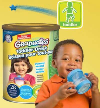 Nestle Baby Free Nestle Gerber Toddler Drink High Value Coupon - Canada