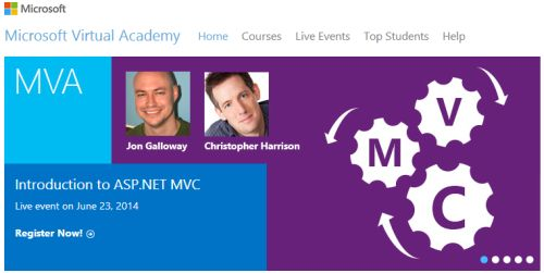 Microsoft Virtual Academy Free IT Training and Online Learning by Experts
