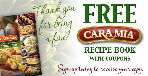 Cara Mia Free Recipe Book & Coupons to the First 15,000 Requests via Facebook