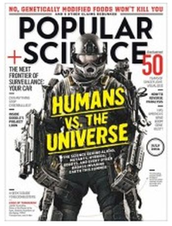 Mercury Magazines Free Subscrition to Popular Science Magazine - US