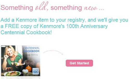 Sears Shop Your Way Free Copy of Kenmore's 100th Anniversary Centennial Cookbook