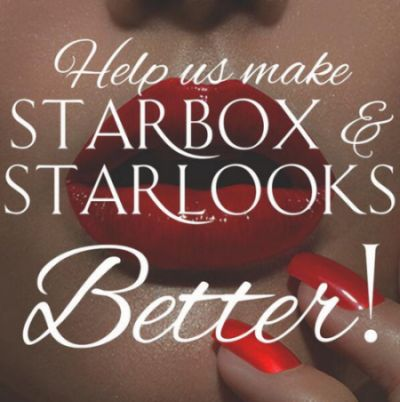 Starbox & Starlooks Cosmetics Free Eye or Lip Liner for Survey