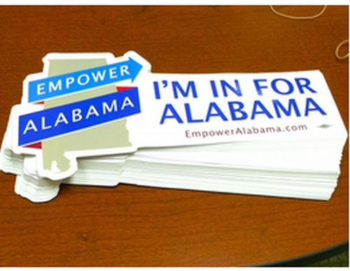 Empower Alabama Free Bumper Sticker - US