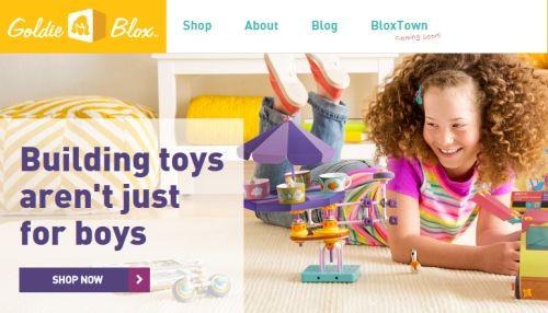 Goldie Blox Free New Blox - Canada and US