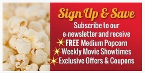 Landmark Cinemas Free Medium Popcorn for Email Sign Up - Canada
