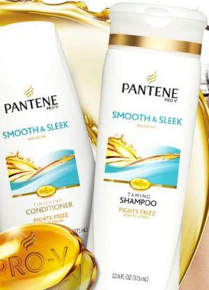 Pantene Pro-V Smooth & Sleek Shampoo and Conditioner Free Sample - US