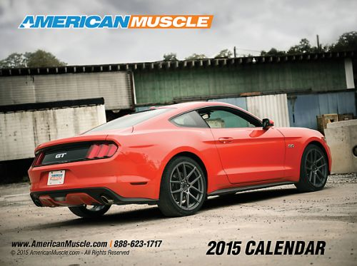 American Muscle Free 2015 American Muscle Calendar by Calling a Toll-Free Number