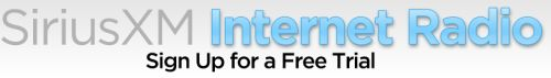 SiriusXM Internet Radio Free Trial for a Month - US