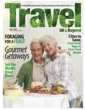 Mercury Magazines Free Subscription to Travel 50 & Beyond Magazine - US