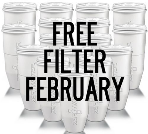 ZeroWater Free Water Filter February via Facebook