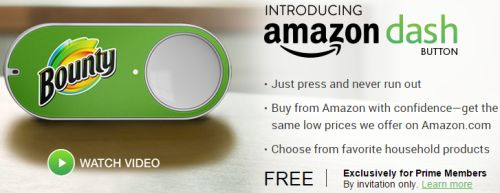 Amazon Free Dash Buttons for Prime Members - US