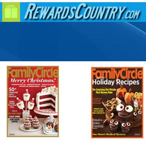 RewardsCountry.com Free Two-Year Subscription to Family Circle Magazine - US